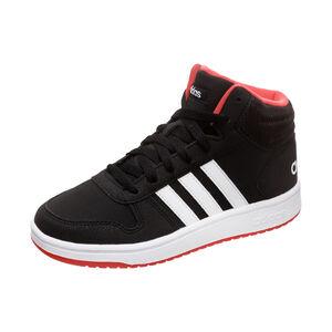 Hoops Mid 2.0 Sneaker Kinder, schwarz / weiß, zoom bei OUTFITTER Online