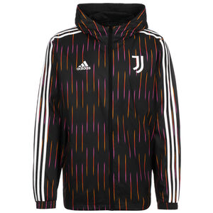 Juventus Turin Windbreaker Herren, schwarz / weiß, zoom bei OUTFITTER Online