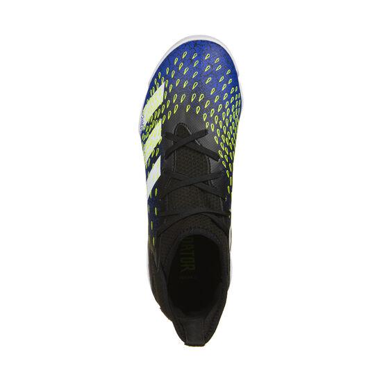 Predator Freak .3 Indoor Fußballschuh Kinder, schwarz / blau, zoom bei OUTFITTER Online