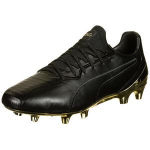 King Platinum MG Fußballschuh Herren, schwarz / gold, zoom bei OUTFITTER Online