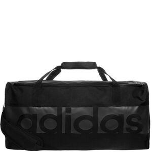 Tiro Linear Teambag Large Fußballtasche, schwarz / grau, zoom bei OUTFITTER Online