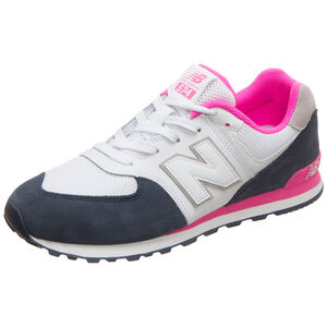 GC574-M Sneaker Kinder, weiß / dunkelblau, zoom bei OUTFITTER Online