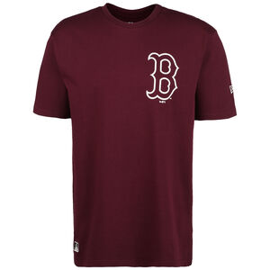 MLB Boston Red Sox Big Logo Oversized T-Shirt Herren, bordeaux, zoom bei OUTFITTER Online