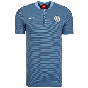Manchester City Modern Authentic Poloshirt Herren, Blau, zoom bei OUTFITTER Online