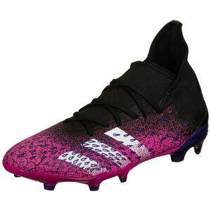 Predator Freak .3 FG Fußballschuh Herren, schwarz / pink, zoom bei OUTFITTER Online