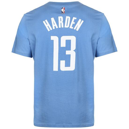 NBA Houston Rockets James Harden City Edition Essential T-Shirt, hellblau / weiß, zoom bei OUTFITTER Online