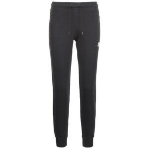 Essential Fleece Jogginghose Damen, schwarz / weiß, zoom bei OUTFITTER Online