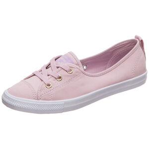 Chuck Taylor All Star Ballet Lace Slip OX Sneaker Damen, rosa / weiß, zoom bei OUTFITTER Online
