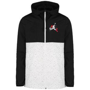 Jordan Classic Windwear Kapuzenjacke Herren, schwarz / weiß, zoom bei OUTFITTER Online