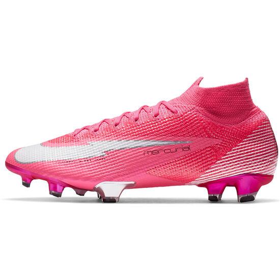 Mercurial Superfly 7 Elite Kylian Mbappé DF FG Fußballschuh Herren, pink / weiß, zoom bei OUTFITTER Online