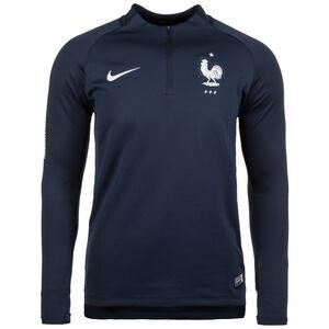 Frankreich FFF Dry Squad Drill Trainingsshirt Herren, Blau, zoom bei OUTFITTER Online