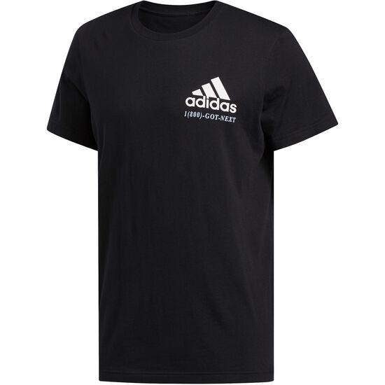 Shop T-Shirt Herren, schwarz / weiß, zoom bei OUTFITTER Online