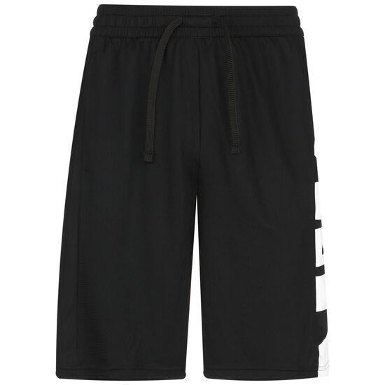 Dri-FIT Basketballshorts Herren, schwarz / weiß, zoom bei OUTFITTER Online