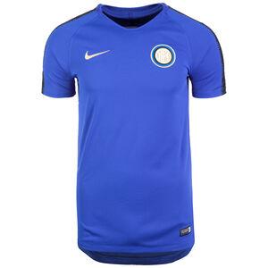 Inter Mailand Breathe Squad Trainingsshirt Herren, blau / schwarz, zoom bei OUTFITTER Online