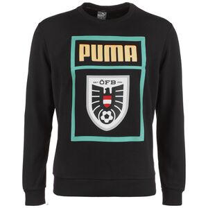 Österreich DNA Sweatshirt EM 2021 Herren, schwarz / türkis, zoom bei OUTFITTER Online