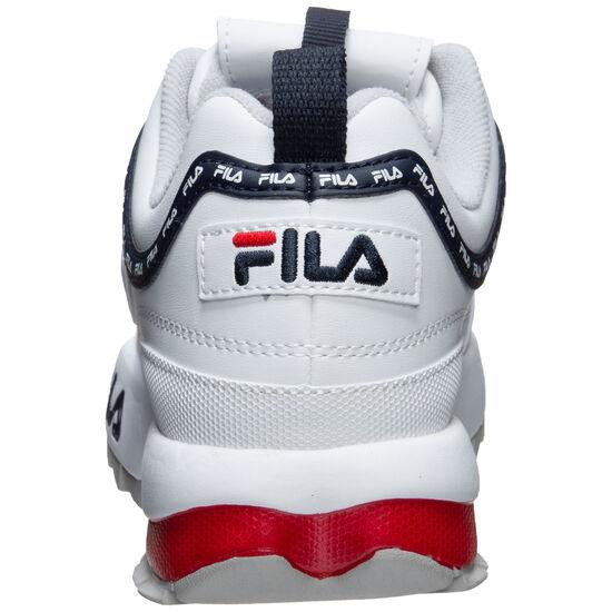 Heritage Disruptor Logo Sneaker Damen, weiß / schwarz, zoom bei OUTFITTER Online