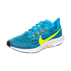 Air Zoom Pegasus 36 Laufschuh Kinder, blau / gelb, zoom bei OUTFITTER Online