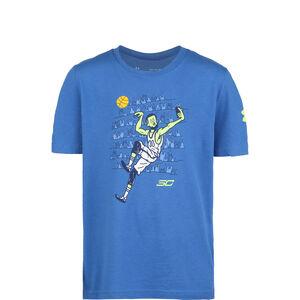 SC30 Selfie Trainingsshirt Kinder, blau, zoom bei OUTFITTER Online