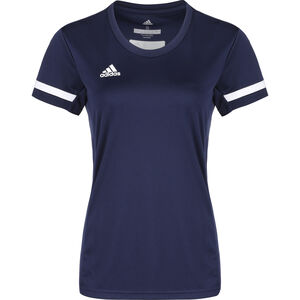 Team 19 Fußballtrikot Damen, dunkelblau / weiß, zoom bei OUTFITTER Online