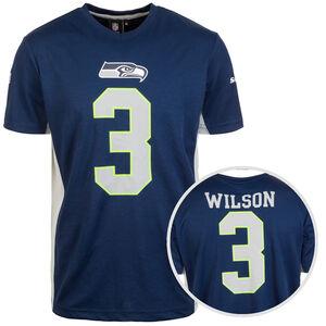 NFL Seattle Seahawks #3 Wilson T-Shirt Herren, blau / weiß, zoom bei OUTFITTER Online