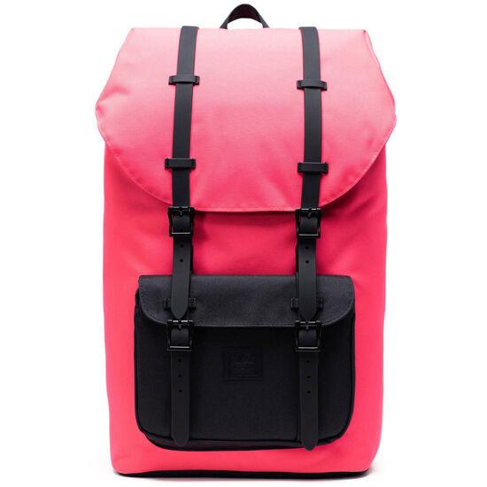 Little America Rucksack, pink / schwarz, zoom bei OUTFITTER Online