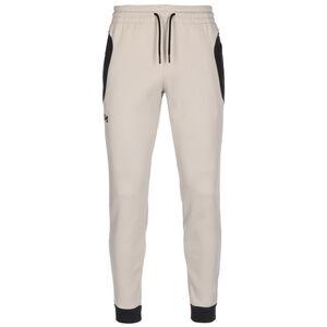Recover Fleece Trainingshose Herren, beige / schwarz, zoom bei OUTFITTER Online