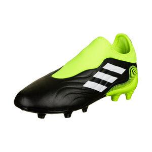 Copa Sense.3 LL FG Fußballschuh Kinder, schwarz / gelb, zoom bei OUTFITTER Online