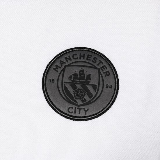 Manchester City Casuals Poloshirt Herren, weiß / schwarz, zoom bei OUTFITTER Online