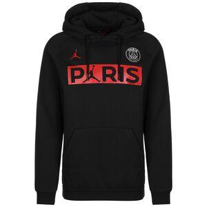 Paris St.-Germain Jordan Jumpman Kapuzenpullover Herren, schwarz / rot, zoom bei OUTFITTER Online