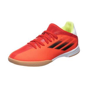 X Speedflow.3 Indoor Fußballschuh Kinder, rot / weiß, zoom bei OUTFITTER Online