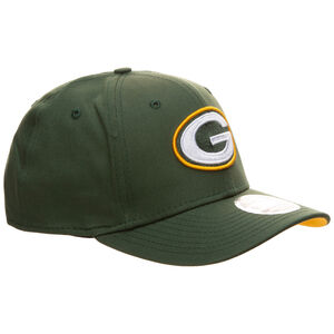 9FIFTY NFL Green Bay Packers Team Stretch Snapback Cap, dunkelgrün / gelb, zoom bei OUTFITTER Online