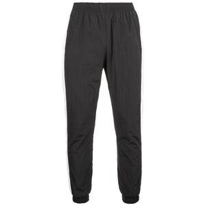Side Striped Crinkle Track Jogginghose Herren, schwarz / weiß, zoom bei OUTFITTER Online