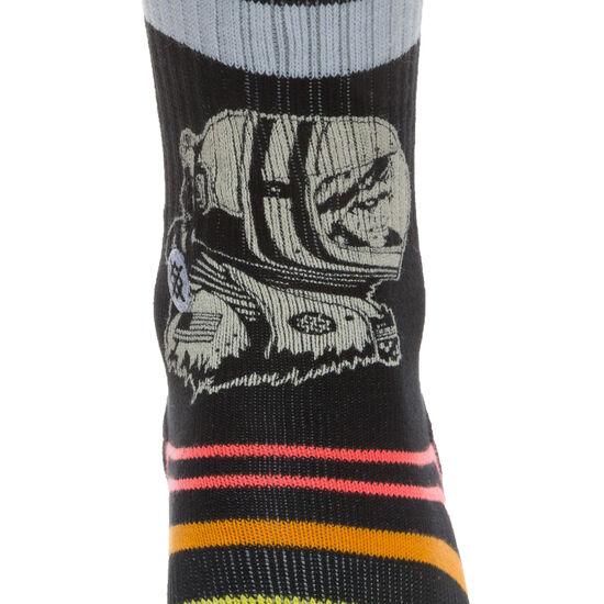 Moon Man Socken Herren, schwarz / bunt, zoom bei OUTFITTER Online