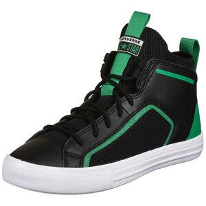 Chuck Taylor All Star Ultra Mid Sneaker, schwarz / grün, zoom bei OUTFITTER Online