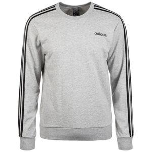Essentials 3 Stripes Trainingssweat Herren, grau / schwarz, zoom bei OUTFITTER Online