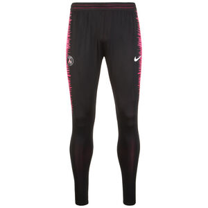 Paris St.-Germain VaporKnit Strike Trainingshose Herren, schwarz / pink, zoom bei OUTFITTER Online