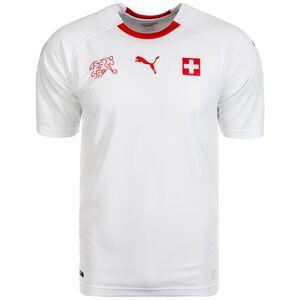 Schweiz Trikot Away WM 2018 Herren, Weiß, zoom bei OUTFITTER Online