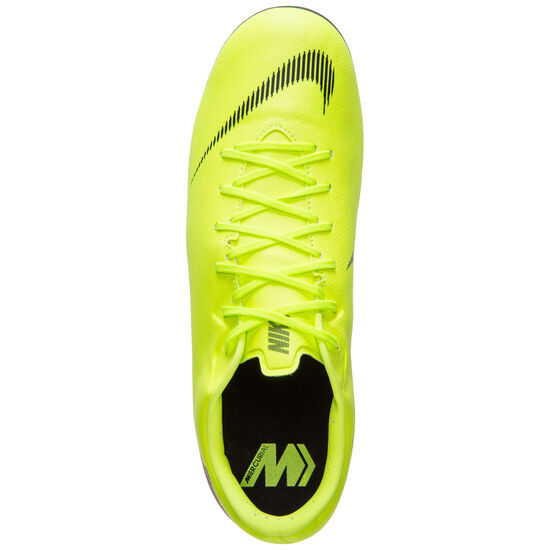 Mercurial Vapor XII Academy MG Fußballschuh Herren, gelb / schwarz, zoom bei OUTFITTER Online