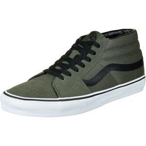 Sk8-Mid Sneaker Herren, dunkelgrün / schwarz, zoom bei OUTFITTER Online