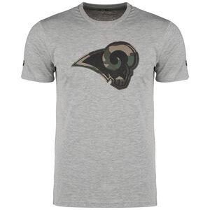NFL Los Angeles Rams Camo Logo T-Shirt Herren, hellgrau / grün, zoom bei OUTFITTER Online