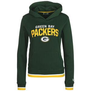 NFL Green Bay Packers Fleece Kapuzenpullover Damen, dunkelgrün / gelb, zoom bei OUTFITTER Online