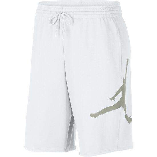 Logo Basketballshorts Herren, weiß / hellgrau, zoom bei OUTFITTER Online