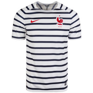 Frankreich FFF Dry Squad Trainingsshirt WM 2018 Herren, Weiß, zoom bei OUTFITTER Online