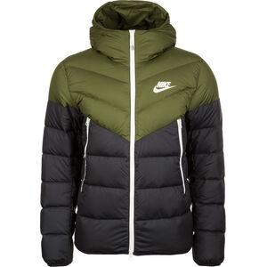 Sportswear Windrunner Daunenjacke Herren, oliv / schwarz, zoom bei OUTFITTER Online