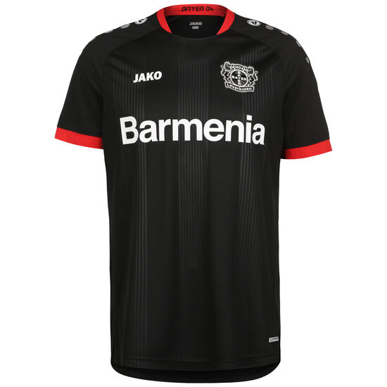 Bayer 04 Leverkusen Trikot Home 2020/2021 Herren, schwarz / rot, zoom bei OUTFITTER Online
