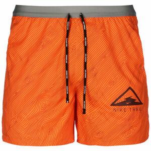 Flex Stride Trail Laufshorts Herren, orange / grau, zoom bei OUTFITTER Online