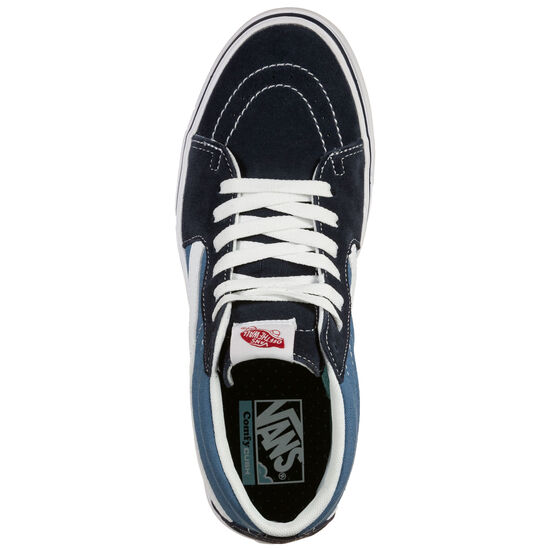 Sk8-Mid ComfyCush Sneaker, dunkelblau / hellblau, zoom bei OUTFITTER Online