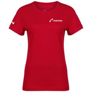 Mainova Team Club 20 Tee Damen, rot / weiß, zoom bei OUTFITTER Online
