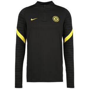 FC Chelsea Strike Drill Trainingssweat Herren, schwarz / gelb, zoom bei OUTFITTER Online