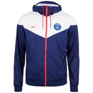 Paris St.-Germain Windrunner Kapuzenjacke Herren, blau / weiß / rot, zoom bei OUTFITTER Online